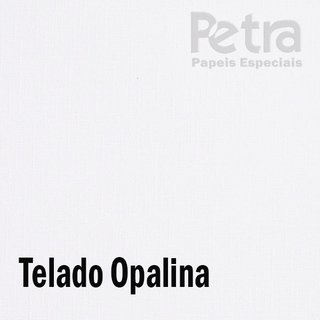 Papel Color plus Opalina Telado  - BRANCO  tam. A4 180g/m²