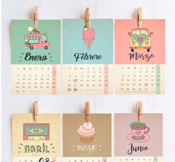 Calendario 2019 Imprimible