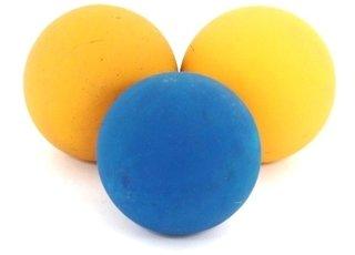 Pelota de goma de colores x 3 unidades  81 00ba7793b250b