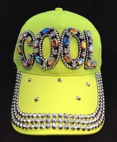 GORRA TACHAS FLUO - Led Moments