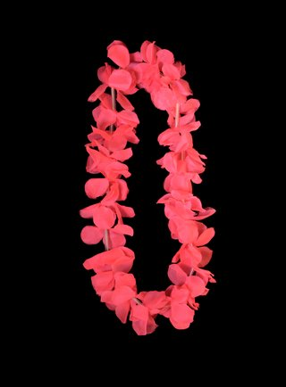 COLLAR HAWAIANO HIPPIE FLUO LED - Led Cotillon