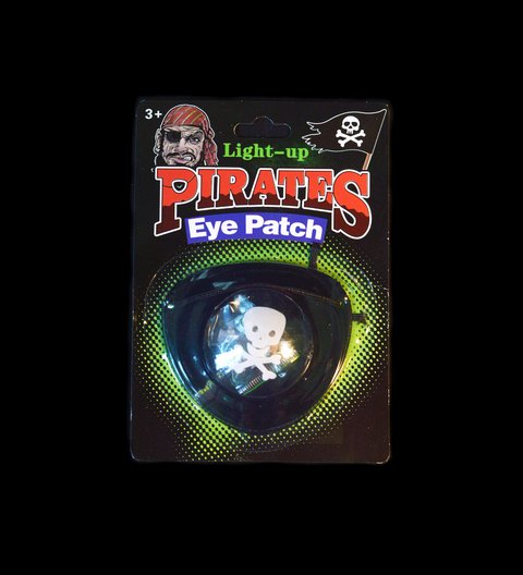 PARCHE PIRATA LED
