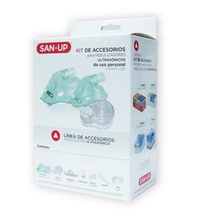 Kit Accesorios para Nebulizador Ultrasonico San Up