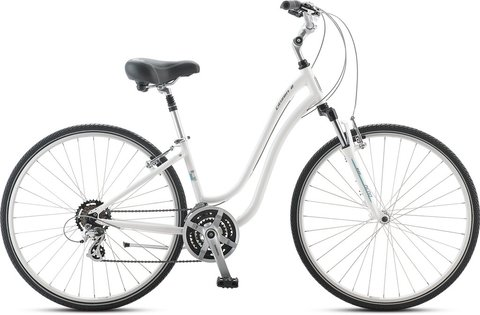 Jamis Citizen 2 Modelo 2017 Dama Aluminio Doble Suspension Comfort Shimano