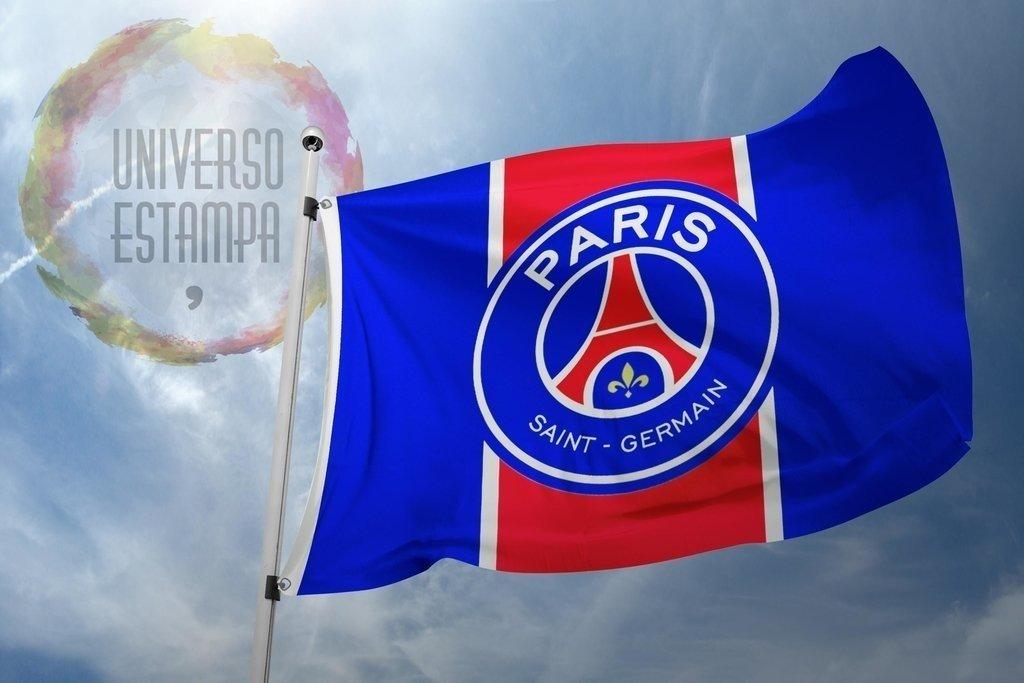 Bandeira do PSG - Comprar em Universo Estampa 14a96b84fe9de