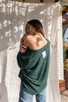 Sweater MARTINA_ verde en internet