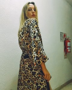 NEW IN!!! KIMONO IRIS _largo | leopardo original - comprar online