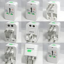 Adaptador viajero, All in one