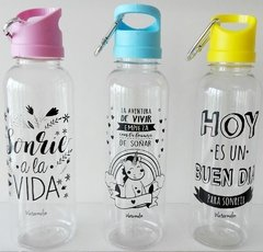 Botella agua frases - comprar online