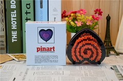 pin art corazon grande en internet