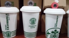 Taza Starbucks cartelito