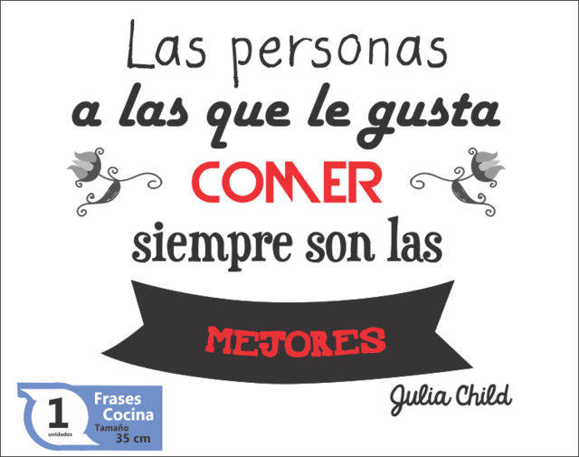 Frase Julia Child en internet