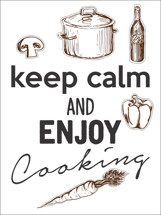 Frase keep ...cooking