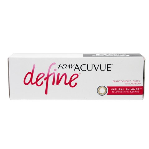 Lentes de Contato Acuvue One Day Define Shimmer