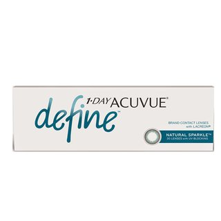Lentes de Contato Acuvue One Day Define Sparkle