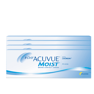 COMBO 4 CAIXAS 1-DAY ACUVUE MOIST