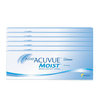 COMBO 6 CAIXAS 1-DAY ACUVUE MOIST