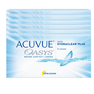 Combo 6 Caixas Acuvue Oasys