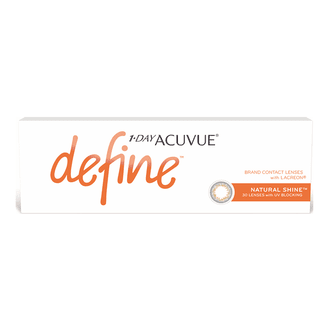 Lentes de Contato Acuvue One Day Define Shine