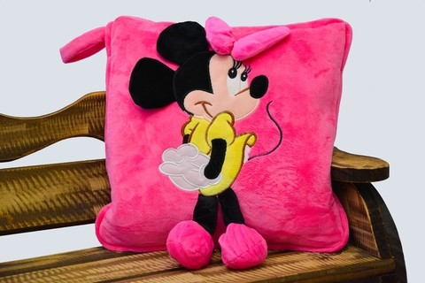 Almohada / Manta Minnie Rose