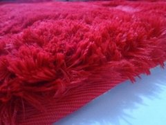 SHAGGY RED RUG 7.87 X 6.56 FEET - online store