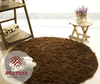 ROUND SHAGGY DAPPLE LIGHT BROWN RUG 6.07 Feet in Diameter (cópia)