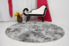 SHAGGY DAPPLE GREY CIRCLE  RUG 6.07 FEET IN DIAMETER - buy online