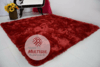 SHAGGY RED RUG 6.07 x 6.07 FEET