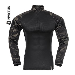 COMBAT-SHIRT RAPTOR MULTICAM BLACK