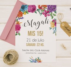 Invitacion Mexican White