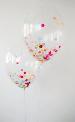 Globo Latex Cristal - ideal para confetti - en internet