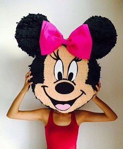 Piñata Cara Minnie