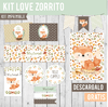 KIT IMPRIMIBLE - KIT LOVE ZORRITO