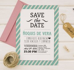 Invitacion Save The Date