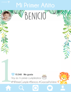 Cartel de Instagram Cumple Selva