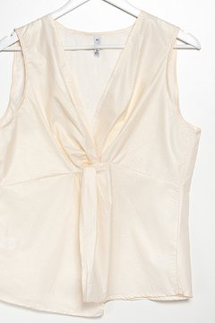 B866 Syes, Blusa musculosa nudo central, Talles grandes en internet