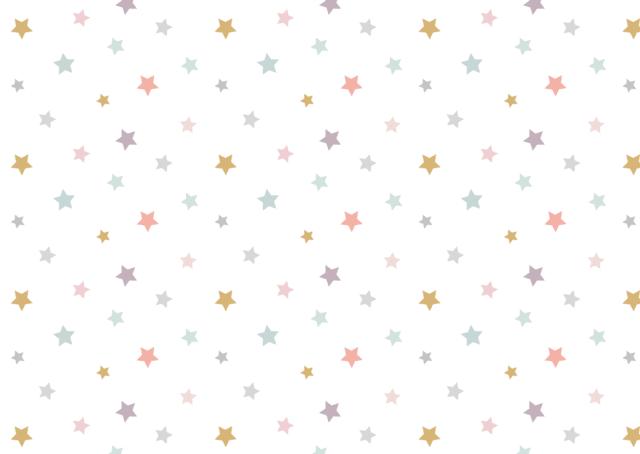 Empapelado estrellas de colores - Azulejos colorines ...