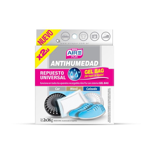 Aire Pur® Repuesto Antihumedad Gel Bag