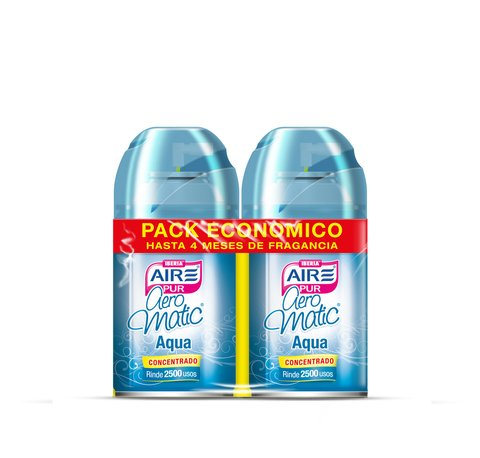 Aeromatic® Pack Económico Aqua 2x250ml
