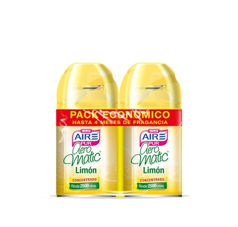 Aeromatic® Pack Económico Limón 2x250ml