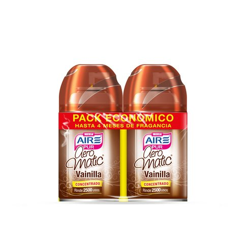 Aeromatic® Pack Económico Vainilla 2x250ml
