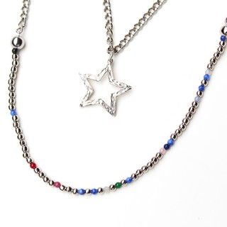 Collar STAR Azul
