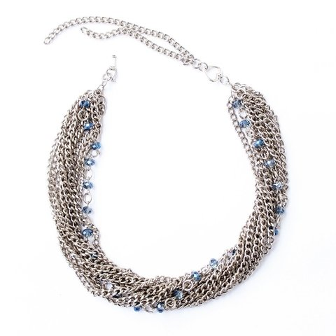 Collar SHINE Azul