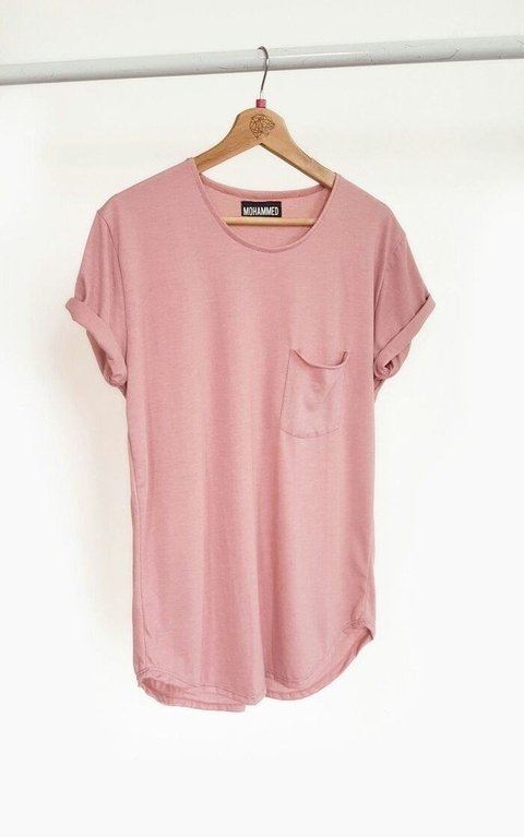 REMERA Box Cut Tshirt -Rosa (6 UNIDADES)