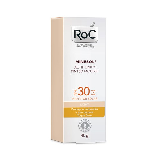 ROC MINESOL TINTED LIGHT 30 40G