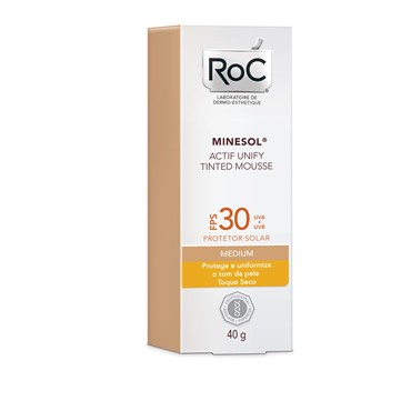 ROC MINESOL TINTED MEDIUM 30 40G