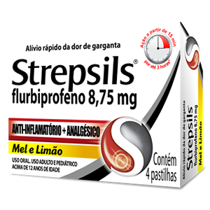 STREPSILS C  4 PAST na internet