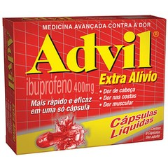 ADVIL EXTRA ALIV 400MG C/8 CAPS
