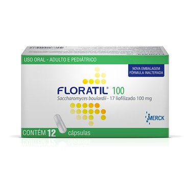 FLORATIL 100MG BLISTER C 12 CAPS