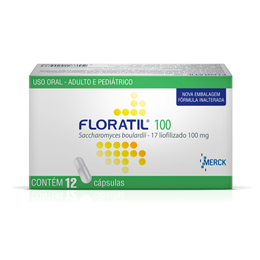 FLORATIL 100MG BLISTER C 12 CAPS na internet